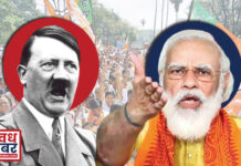 adolf hitler and narendra modi
